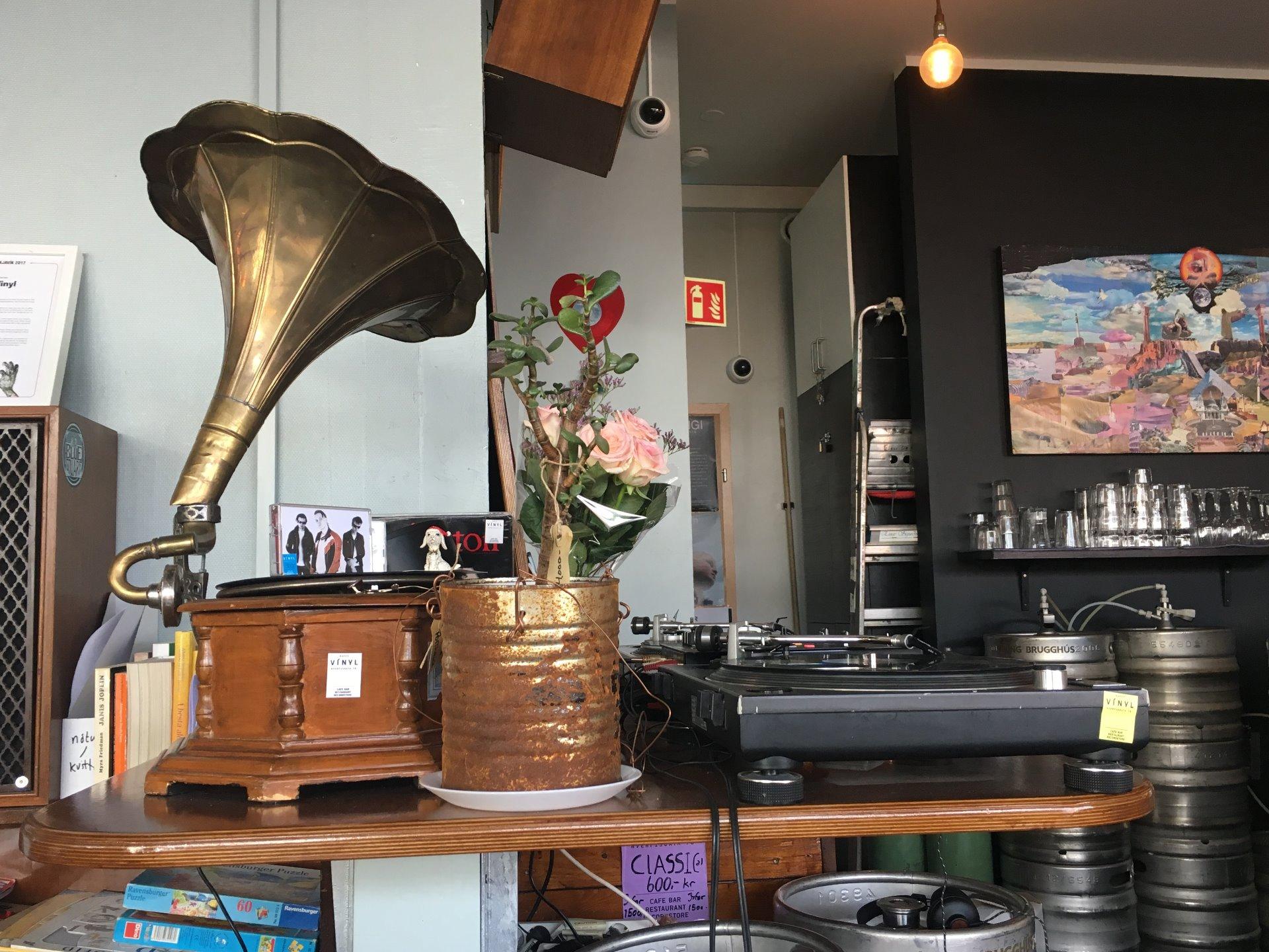 Kaffi Vínyl, nádherné místo