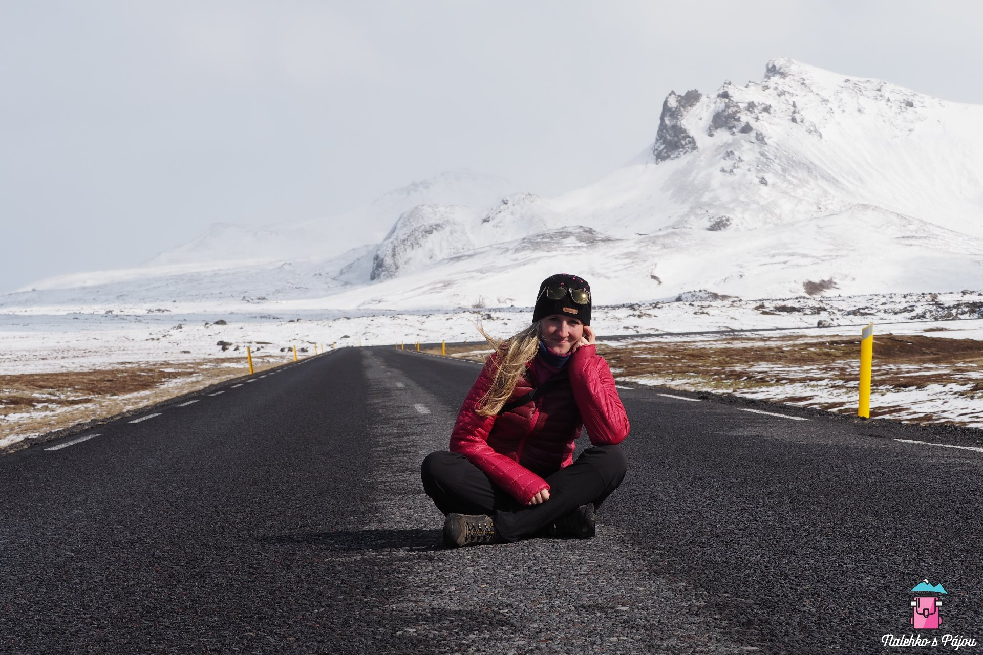 Udělat si fotku na silnici není na Islandu žádný problém