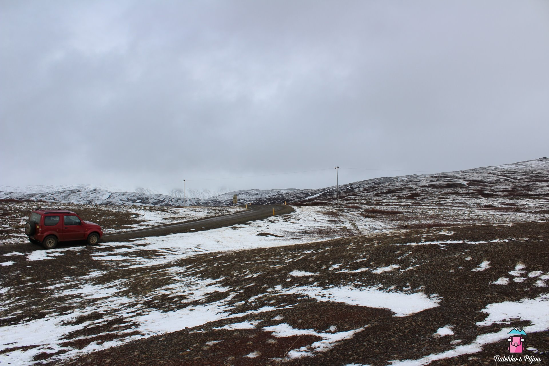 Naše islandská kára na cestách
