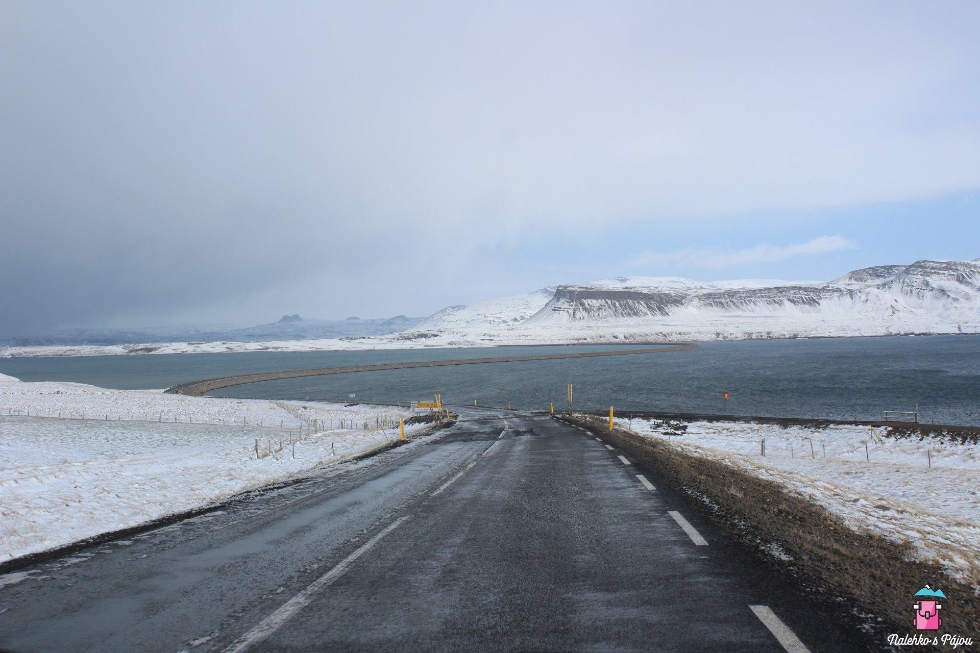Vjezd do Westfjordů