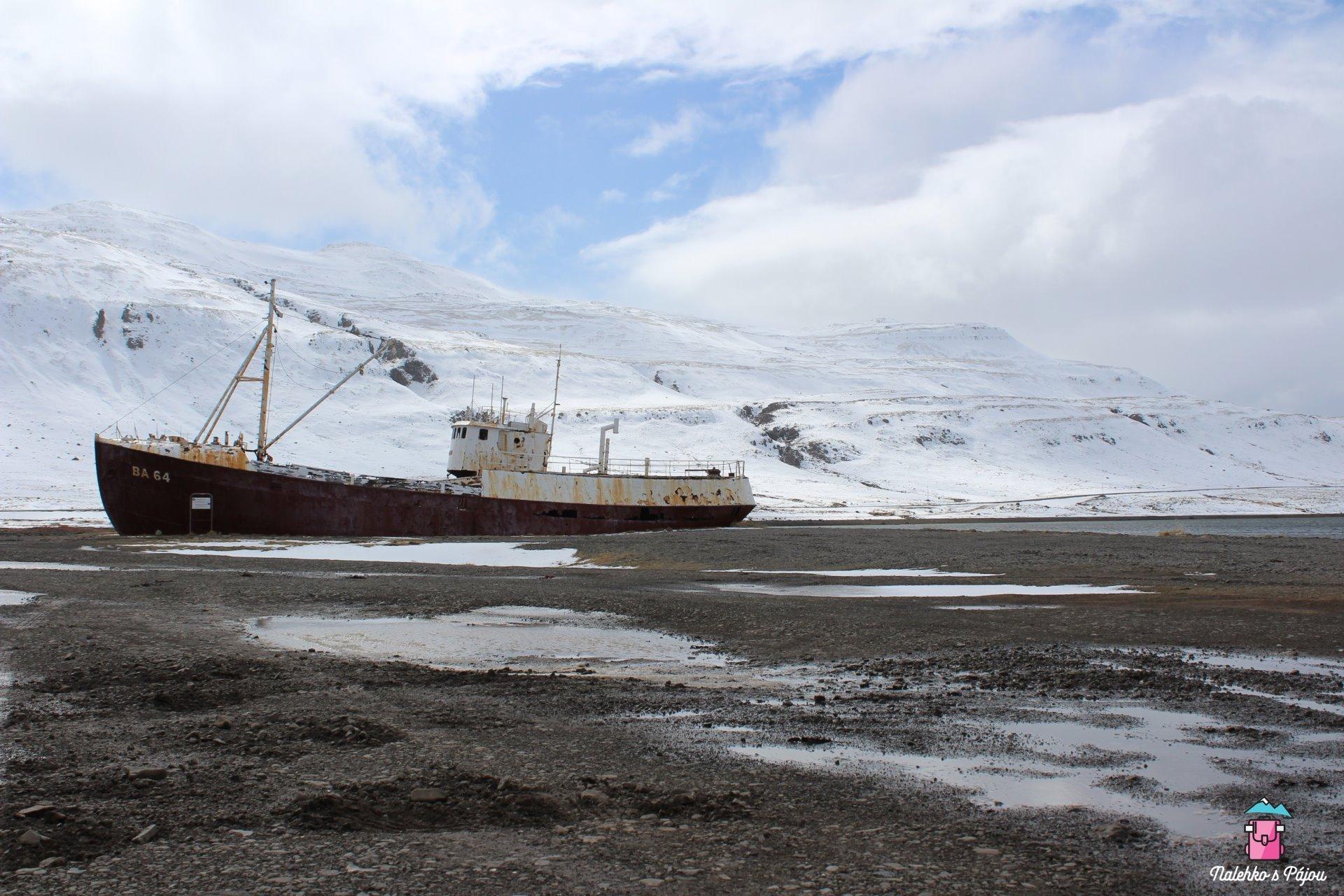 Vrak lodi Gardar BA 64