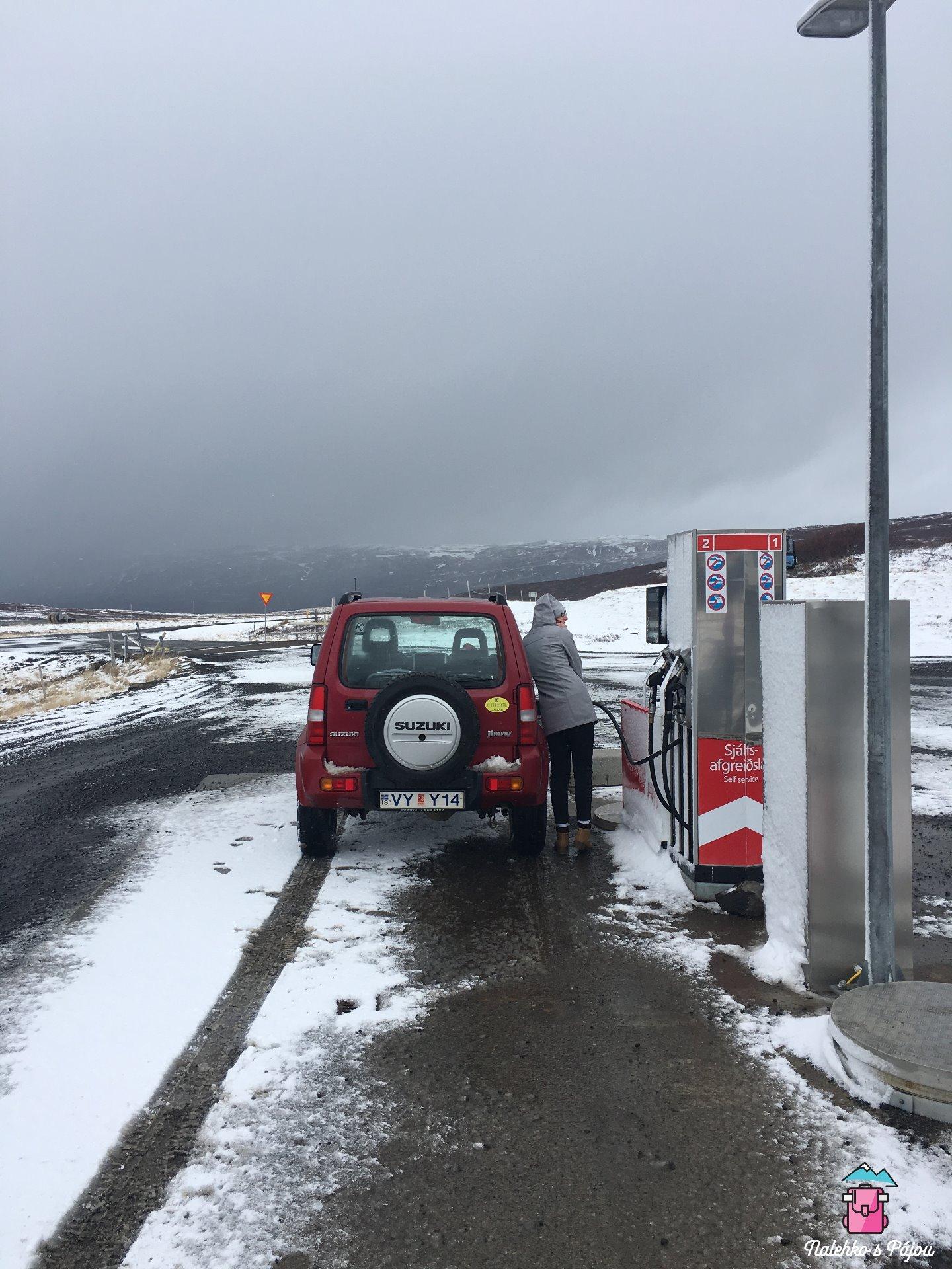 Islandské benzínky :)