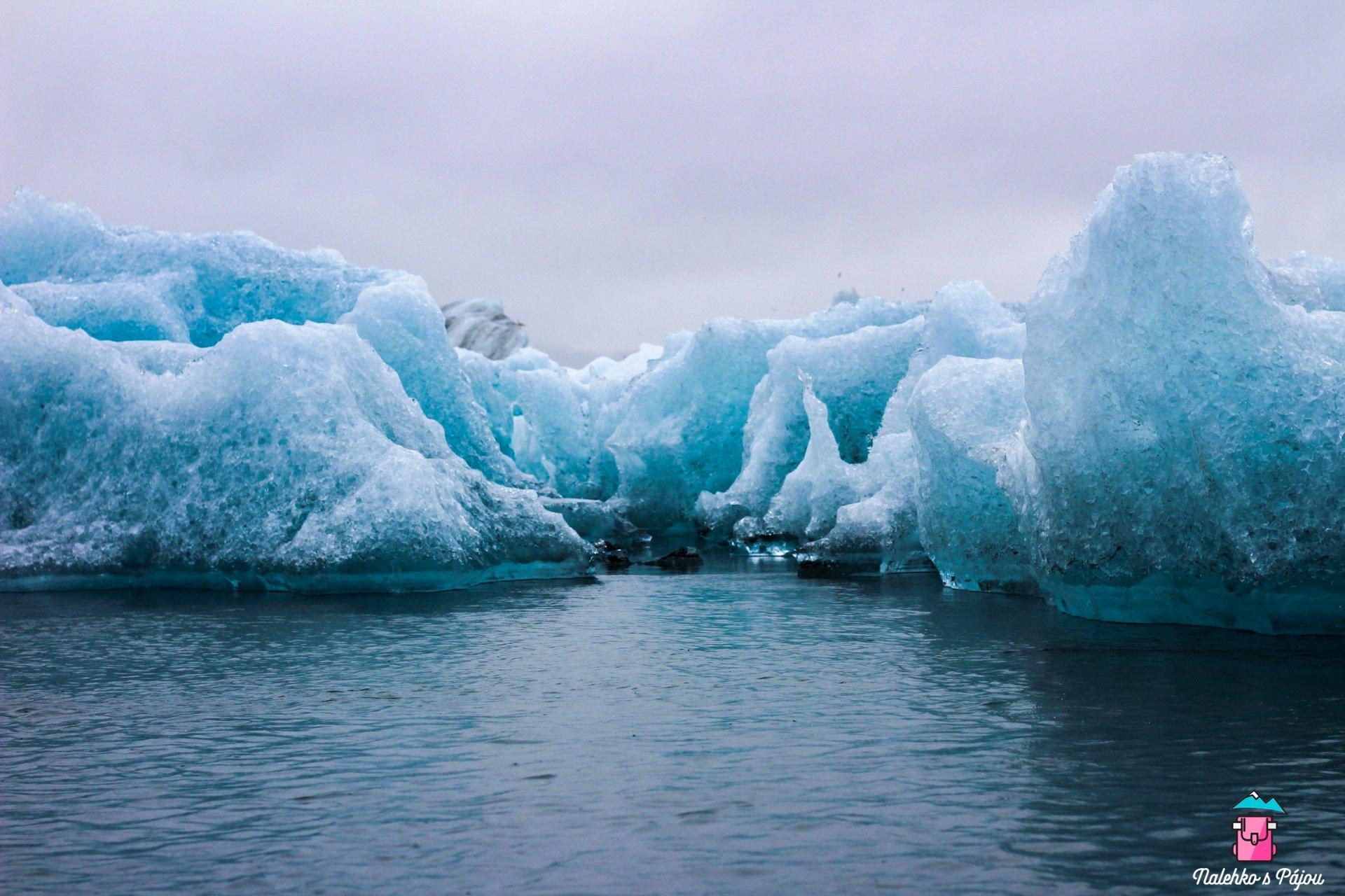 V životě jsem tak modrou vodu neviděla