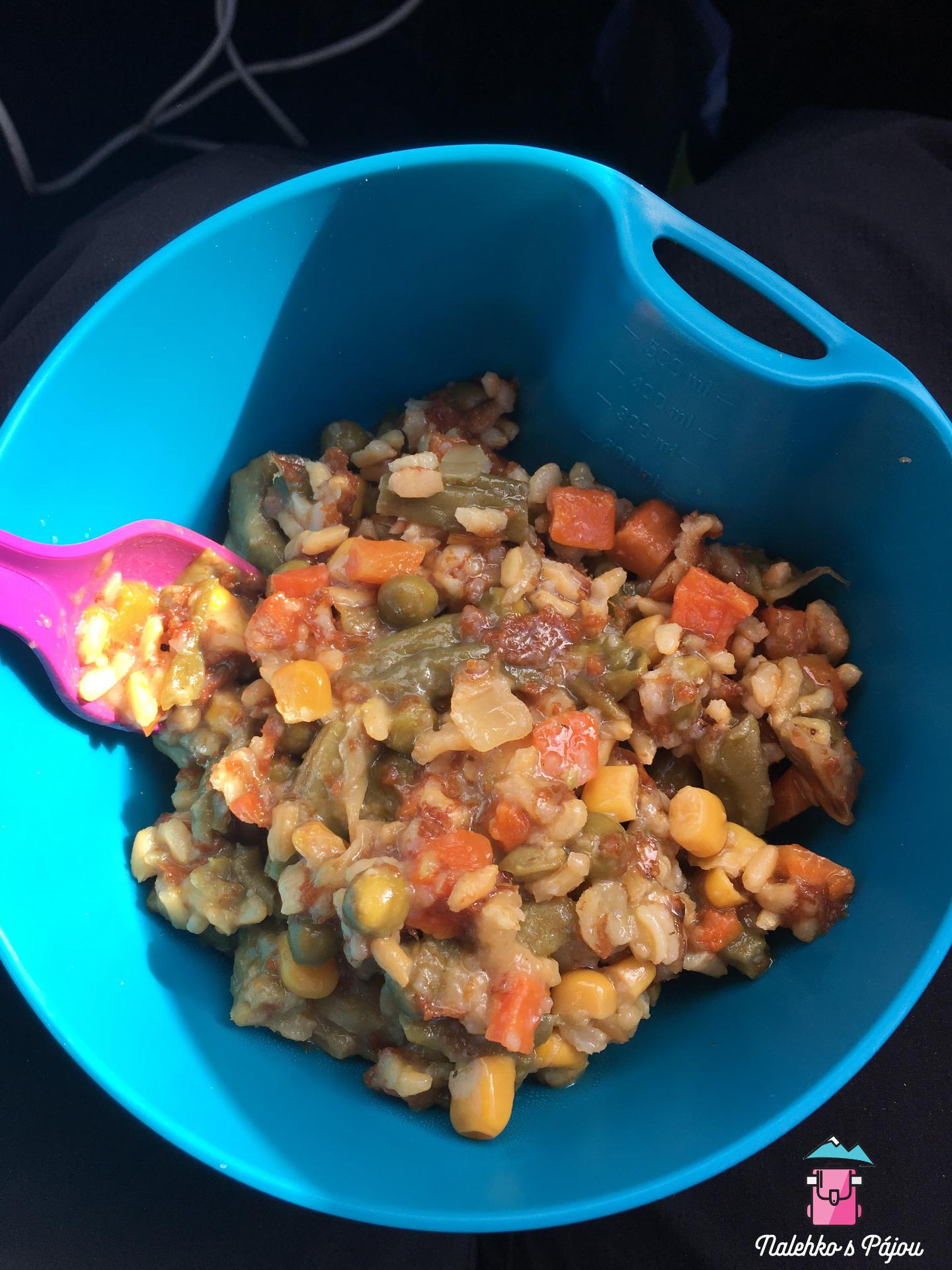 Tentokrát zeleninové rizoto po provensálsku