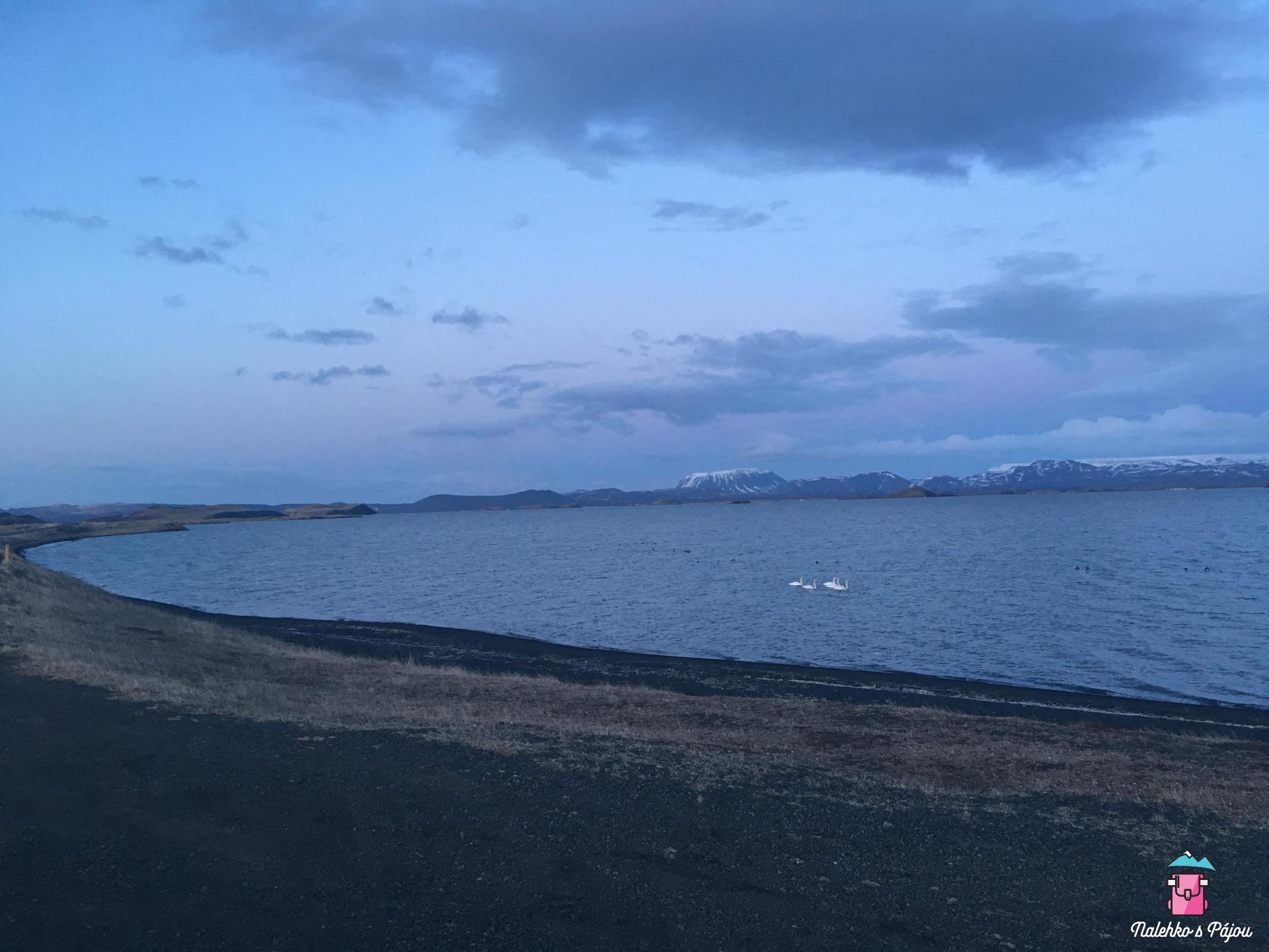 Jezero Mývatn